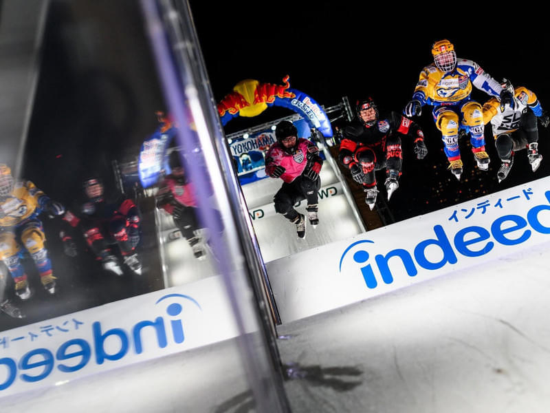 Red Bull Crashed Ice Yokohama in pictures Bild 7