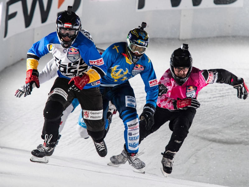 Red Bull Crashed Ice Yokohama in pictures Bild 9