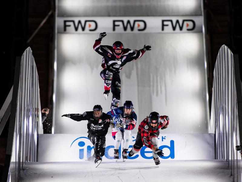 Red Bull Crashed Ice Yokohama in pictures Bild 10