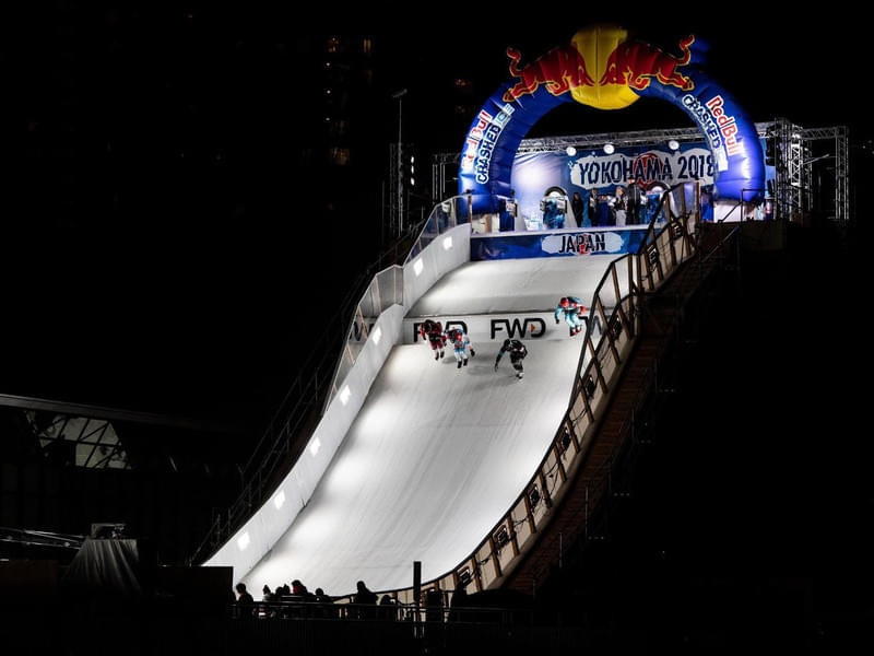 Red Bull Crashed Ice Yokohama in pictures Bild 14
