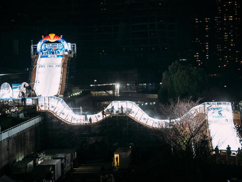 Red Bull Crashed Ice Yokohama in pictures Bild 2