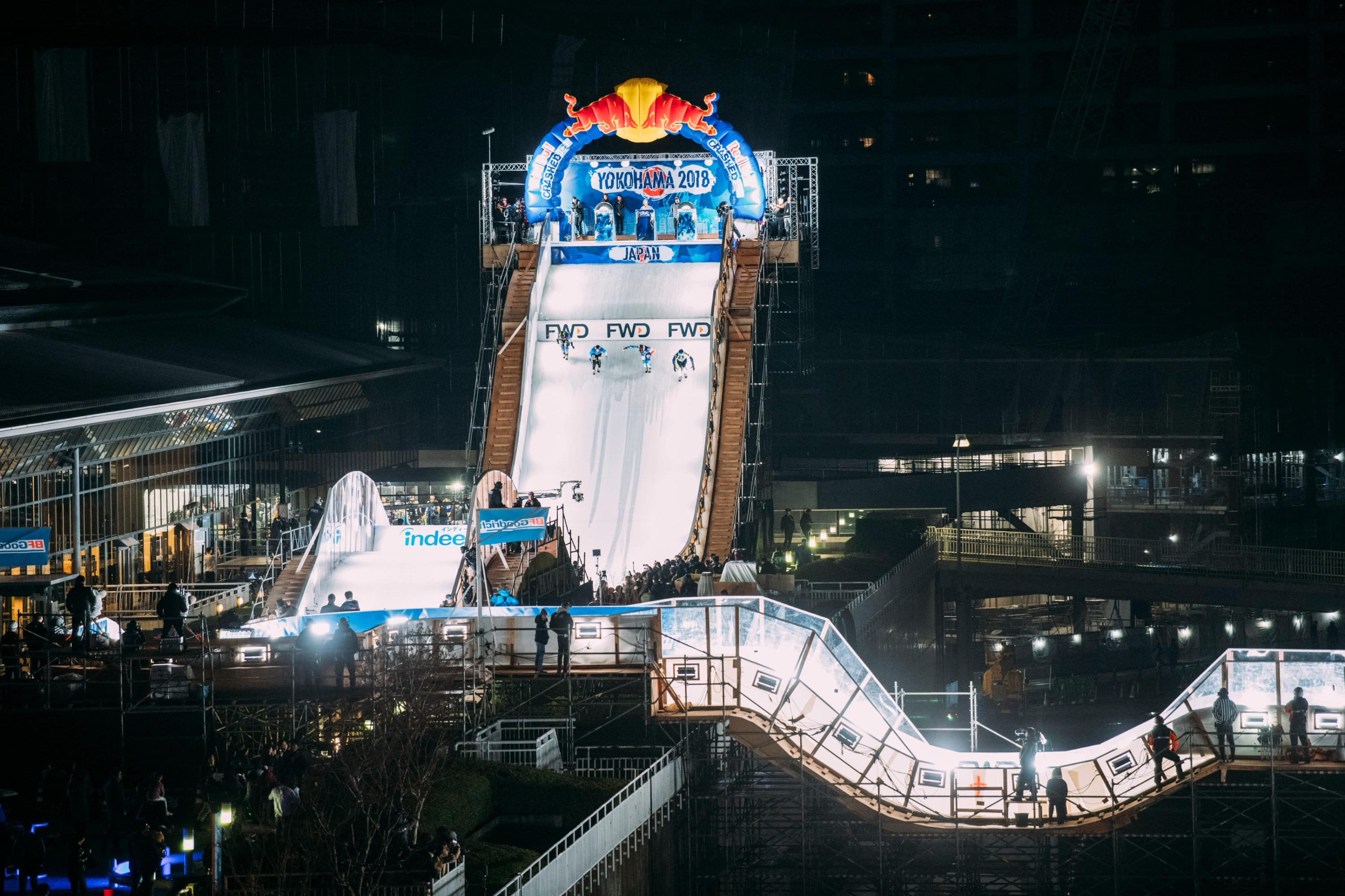 The 2020 track will feature even more challenges for the athletes. Image: Suguru Saito / Red Bull Content Pool