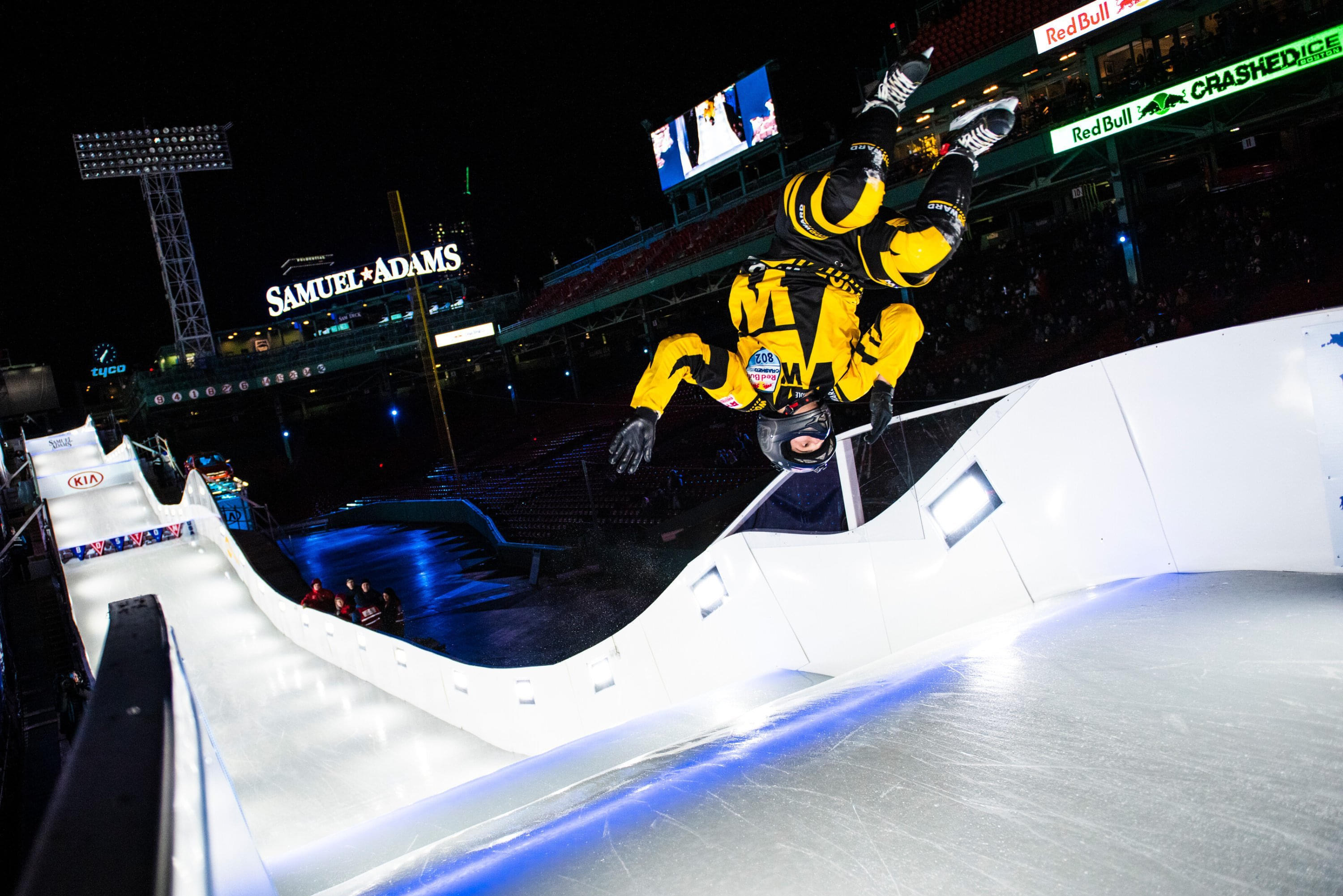 Backflips on ice? No problem Image: Ryan Taylor / Red Bull Content Pool