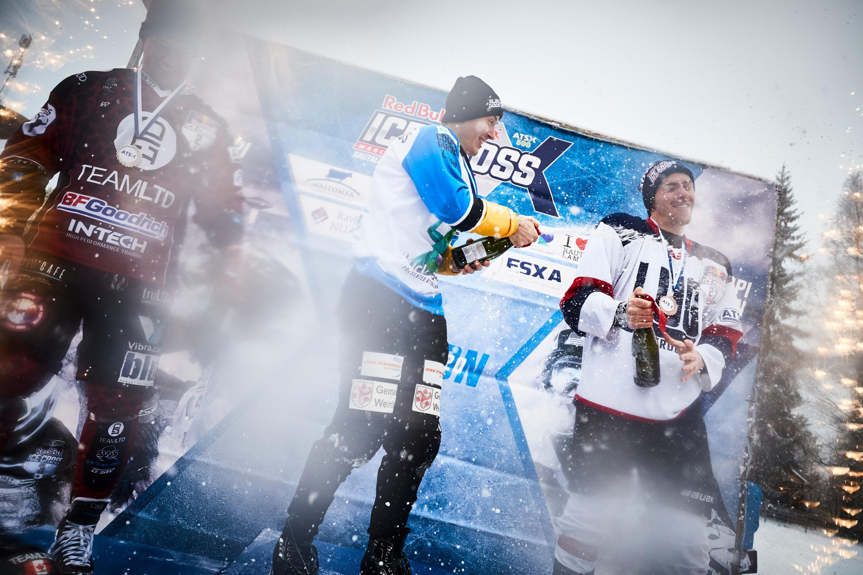 Robin came third in Finland last weekend, his best result yet. Image: Andreas Langreiter / Red Bull Content Pool